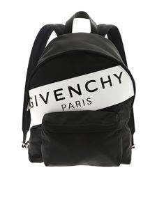 Givenchy - Urban backpack with white and black print