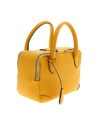Golden Goose Deluxe Brand - Equipage Nano yellow handbag with charm