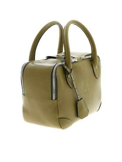 Golden Goose Deluxe Brand - Equipage Nano olive green bag with charm