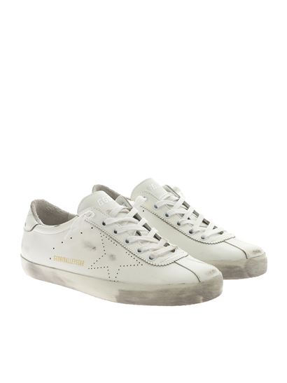 Golden Goose Deluxe Brand - Halleystar white sneakers