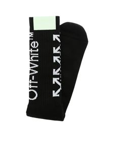 Off-White - Arrows Off White black socks