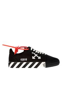 Off-White - Sneakers Vulcanised Striped Low Top nere