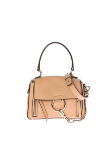 Chloé - Blush nude color leather Faye Day medium bag
