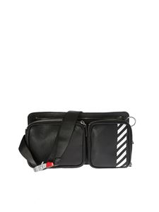 Off-White - Marsupio Diag nero