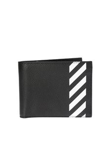 Off-White - Diag Bifold black wallet