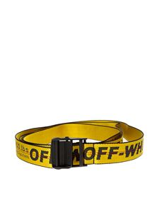 Off-White - Industrial yellow belt