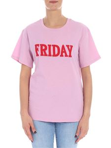 Alberta Ferretti - Friday pink t-shirt