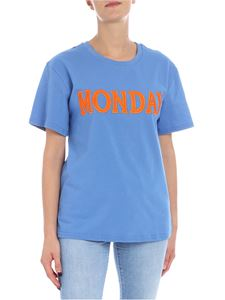 Alberta Ferretti - Monday light blue t-shirt