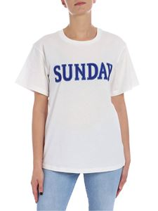 Alberta Ferretti - Sunday white t-shirt