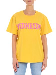 Alberta Ferretti - Wednesday ocher color t-shirt