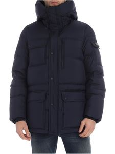 Woolrich - Sierra Supreme blue down jacket