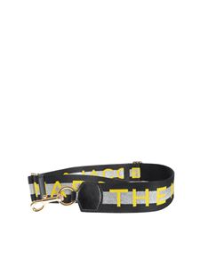 Marc by Marc Jacobs - Webbing M Jacobs strap in black and silver