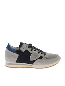 Philippe Model - Sneakers Tropez L grigie e blu
