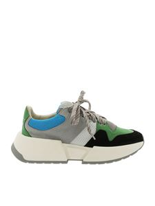 MM6 by Maison Martin Margiela - Colorblock sneakers with logo