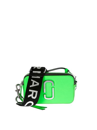 e033d3844 Marc by Marc Jacobs Spring Summer 2019 snapshot camera neon green ...