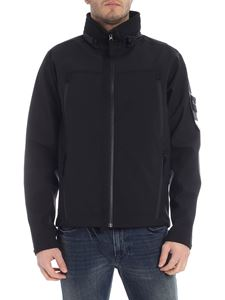 Stone Island - Black jacket with extractable hood