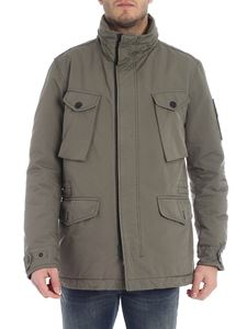 Stone Island - David-Tc Primaloft army green jacket