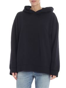 MM6 by Maison Martin Margiela - Black overfit MM6 hoodie
