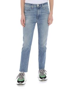 Rag & Bone - Light blue blue raw cut jeans