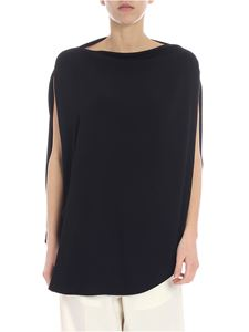 MM6 by Maison Martin Margiela - MM6 overfit black top