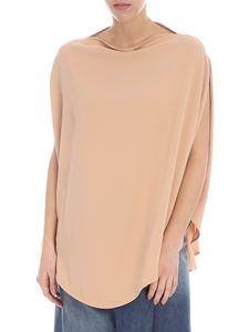 MM6 by Maison Martin Margiela - MM6 overfit nude color top