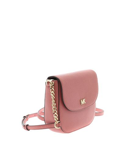 Michael Kors - Michael Kors Mott crossbody bag in pink