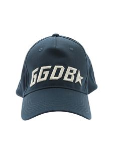 Golden Goose Deluxe Brand - Jackie blue hat with logo