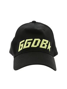 Golden Goose Deluxe Brand - Black hat with GGDB logo