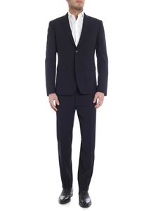 Dsquared2 - Blue virgin wool 2 buttons suit