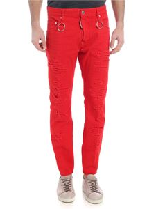 Dsquared2 - Red Slater Dsquared2 trousers