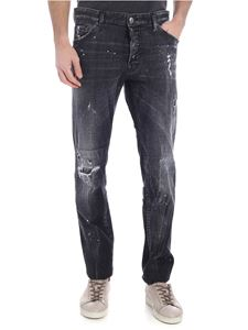Dsquared2 - Jeans Cool Guy nero destroyed
