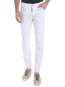 Dsquared2 - Dan Dsquared2 white trousers
