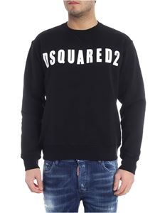 Dsquared2 - Black sweatshirt with Dsquared2 logo