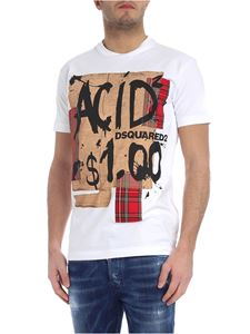 Dsquared2 - Acid2 white t-shirt