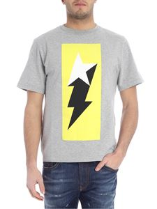 Golden Goose Deluxe Brand - Golden Flash gray T-shirt