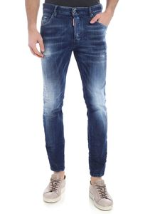 Dsquared2 - Skater blue destroyed jeans