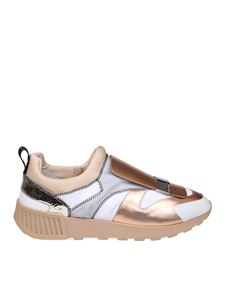 Sergio Rossi - Low top laminated sneakers