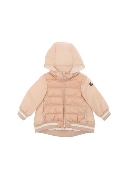 Moncler Jr - Pink Tureia down jacket