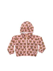 Moschino Kids - Pink Teddy Bear jacket