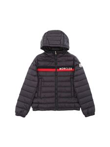 Moncler Jr - Ouanary blue down jacket