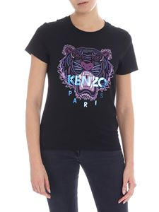Kenzo - Black t-shirt with logo print