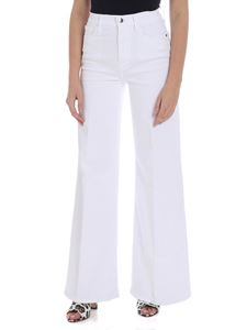 Frame - Le Palazzo white jeans