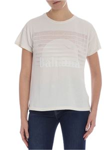 Rag & Bone - Bahamas Burnout Vintage Crew white t-shirt