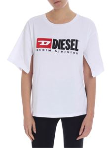 Diesel - T Jacky white t-shirt with logo