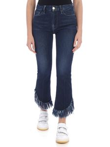 FRAME - Le Midi Mini Boot blue jeans