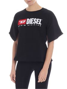 Diesel - T Jacky black t-shirt with logo