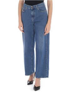 Diesel - Widee blue wide jeans