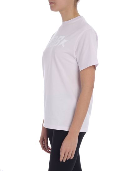 Golden Goose Deluxe Brand - Lilac t-shirt with logo