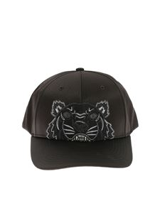 Kenzo - Tiger Kenzo Paris black cap with logo