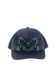 Kenzo - Kenzo Paris Tiger blue cap with logo